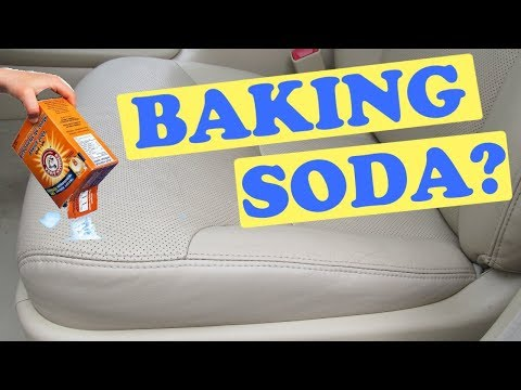 Cleaning Your Car With Baking Soda Youtube