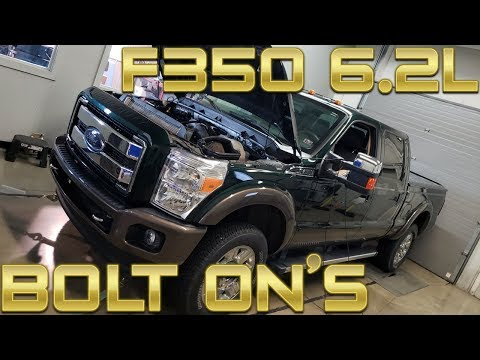2016 F350 6.2L Work Truck Dyno With (Bolt On Parts) Super Duty At Brenspeed
