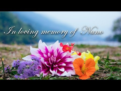 In Loving Memory Of Nano - Memorial With A Written Letter