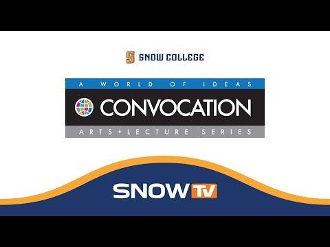Snow College Convocation: Jerry Johnson 2-15-2018