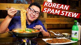 How Spam, Hot Dogs, and Instant Noodles Made One of Korea's Most Iconic Dishes - K-Town