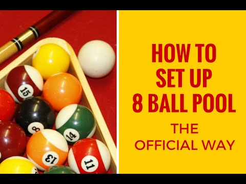 Official way to rack up 8-ball pool - Life Hacks Tv
