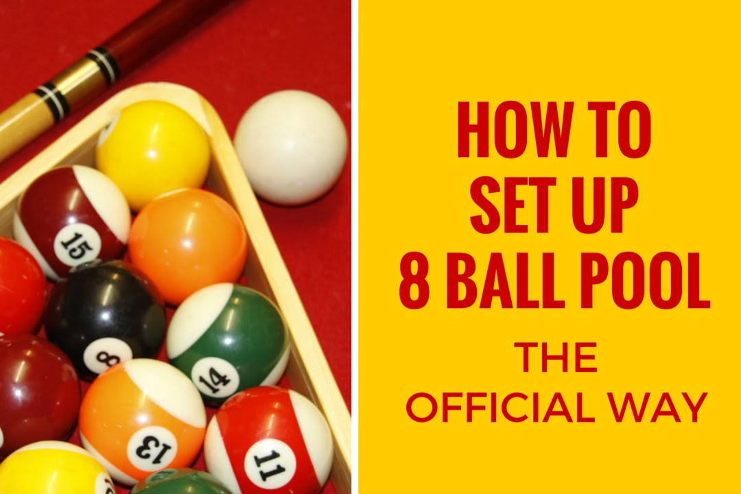 Official way to rack up 8-ball pool - Life Hacks Tv - YouTube