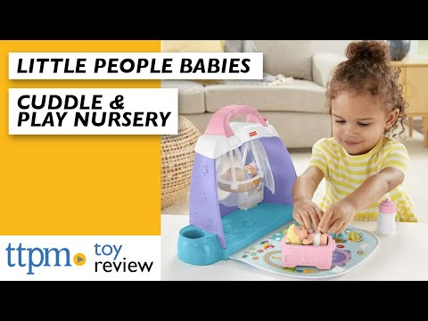 Fisher Price Little People Babies And Cuddle & Play Nursery From Fisher-Price