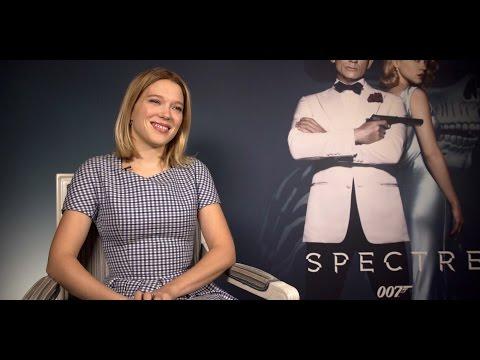 Interview with Spectre's spectacular Bond-girl Léa Seydoux