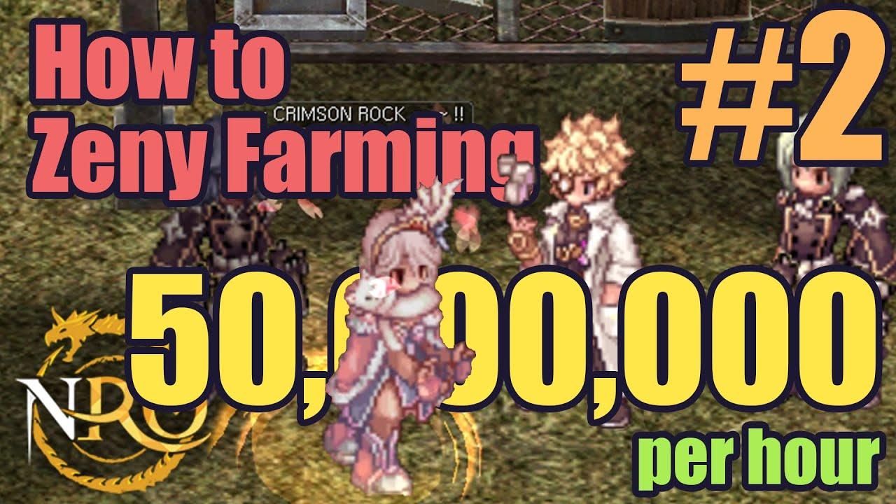 Novaro How To Zeny Farming 2 Rudus 2f 50m H Youtube
