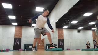 Степ аэробика. Step aerobic. Целый урок (интенсивная тренировка)