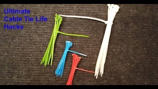 Zip Tie Life Hacks - Ultimate