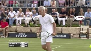 Mercedes Cup 2014: Showmatch Michael Stich - John McEnroe