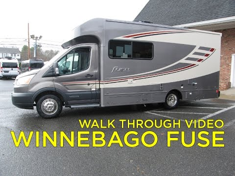 Walk Through 2017 Winnebago Fuse Motorhome Ford Transit For Sale at Colonial RV