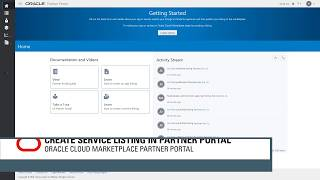 Create a service listing with Oracle Cloud Marketplace Partner Portal video thumbnail