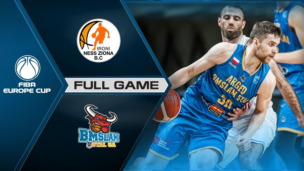 Ironi Ness Ziona v Arged BMSLAM Stal | Full Game - FIBA Europe Cup 2020-21