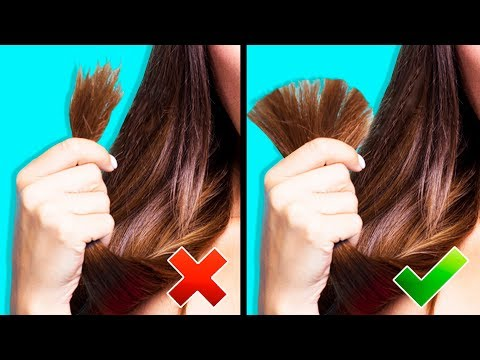 35 MAGIC HACKS FOR YOUR HAIR from YouTube · Duration:  11 minutes 51 seconds