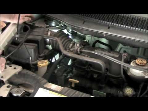 2003 Jeep Wrangler Fuel Filter Location 03 Caravan Evap Leak Youtube