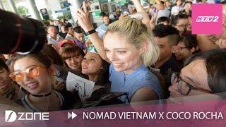 nomad vietnam x coco rocha i fan don coco rocha o san bay