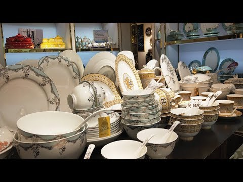 Wholesale Luxury Dinnerware Sets Versace Dinner Plates LV Tableware Hermes Plate Set Coffee Tea Sets