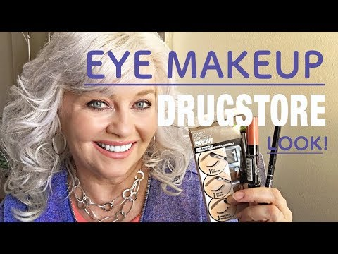 DRUGSTORE EYE MAKEUP TUTORIAL FOR BEGINNERS