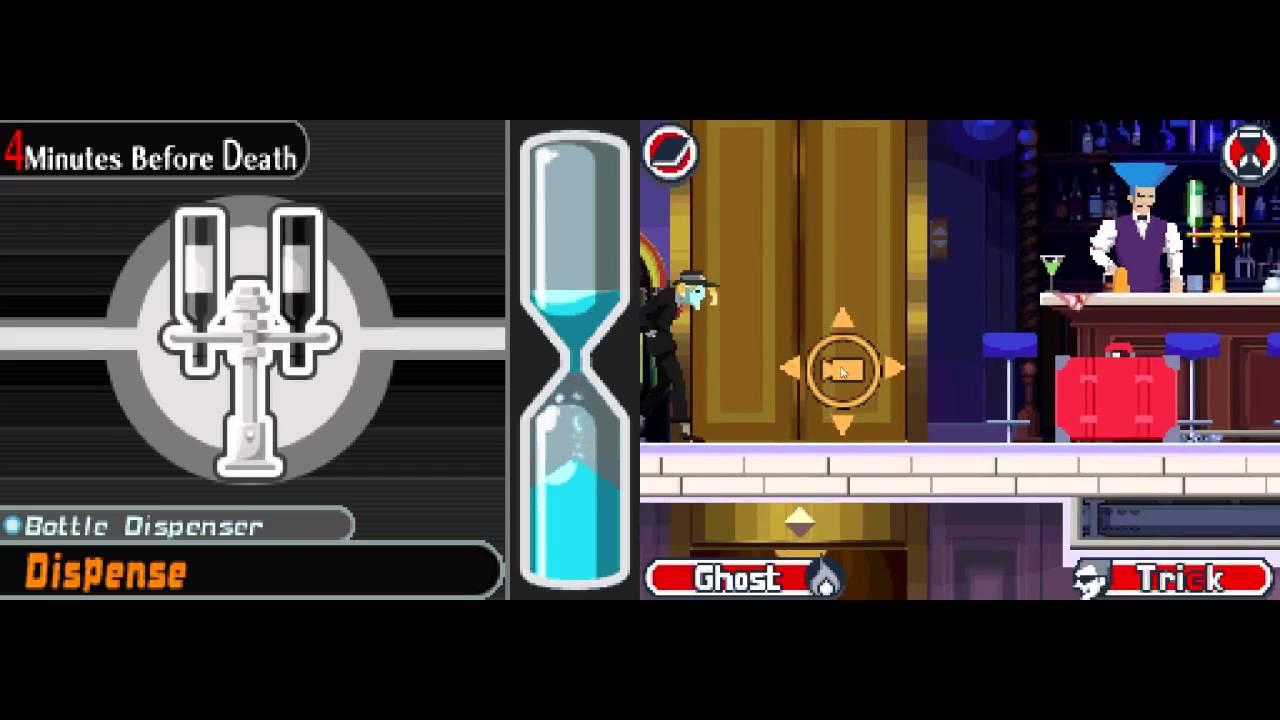 Ghost Trick Phantom Detective Chapter 7 Walkthrough Youtube