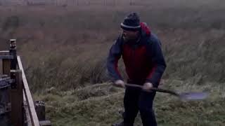 Bothy Tips: Opening a Can with a Spade
