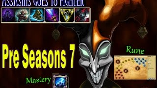 Shaco rework dominate the game | Pre season 7 Assassin goes to fighter #2