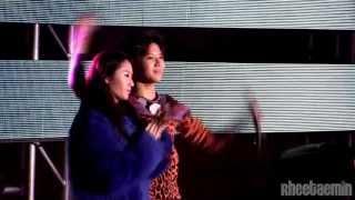 l2l23l Taemin  with Krystal focus - f(x)+SHINee special stage FULL fancam