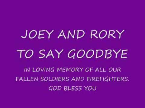 JOEY AND RORY TO SAY GOODBYE.wmv