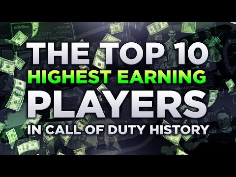 THE TOP 10 HIGHEST EARNING PLAYERS IN CALL OF DUTY HISTORY *2016*