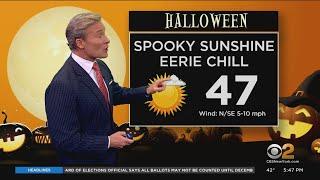 New York Weather: CBS2's 10/30 Friday Evening Update