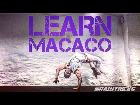 How to do a macaco or monkey flip tutorial breakdancing capoeira.