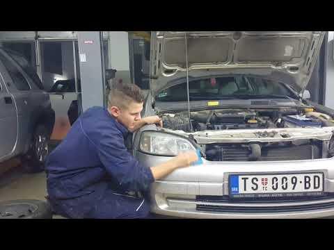 How To Polish Headlights - Opel Astra G