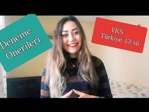 3 Dakikada TYT DENEME ÖNERİLERİ| YKS Türkiye 13.sü