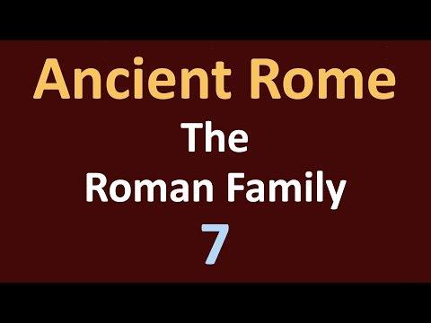 Ancient Rome History - Roman Family - 07