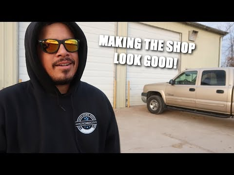 Another Day of Building Our Dream Shop!