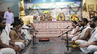 Kritika Mandala Veda Parayanam - Concluding Day - 30.12.2018