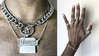 My Jewelry Collection | Choker Necklace, Rings, Bracelets, Pendants (Men