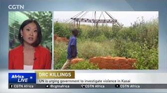 "UN ""horrified"" at video showing murder of investigators in Kasai"