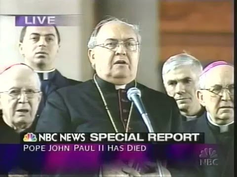 Death of Pope John Paul II - NBC News Special Report April 2, 2005