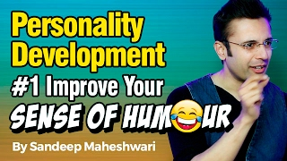 Personality Development #1 Improve Your Sense of Humour - By Sandeep Maheshwari I Hindi thumbnail