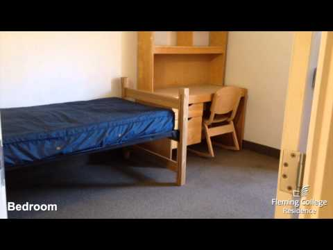 Fleming College Residence   Frost Residence   Bedroom And Suite Video Tour   June 2014