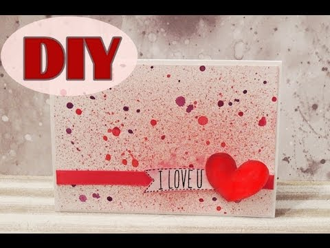 Valentinstagskarten Selber Basteln #1   Valentineu0027s Day Cards   DIY