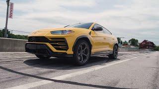 homepage tile video photo for Lamborghini Urus at Lightning Lap 2019