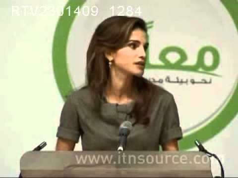 Queen Rania Speaks About Violence Against Children