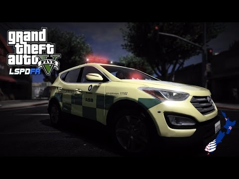 GTA 5 - Emergency 111 - New Zealand Paramedic Patrol! (ELS Santa Fe)
