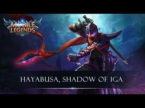 Hayabusa Mobile Legends New Champ Youtube