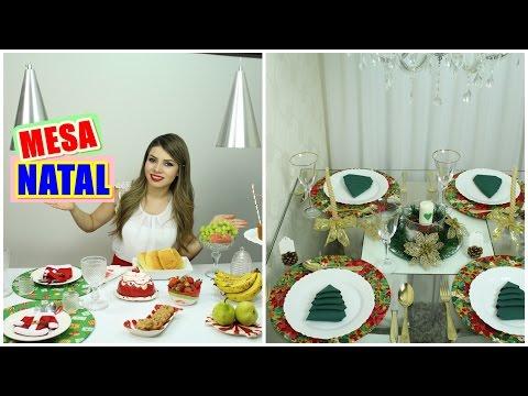 Decoração Mesa Posta de Natal | Café, Almoço e Ceia | Paloma Soares