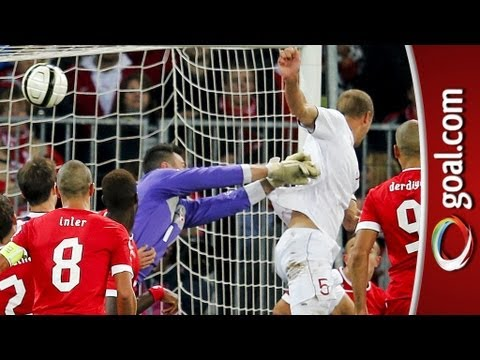 Brede Hangeland late header levels Switzerland v Norway World Cup qualifier!
