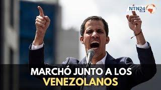 """Guaidó: """"la absoluta responsabilidad de la crisis humanitaria en Venezuela es de Maduro"""""""