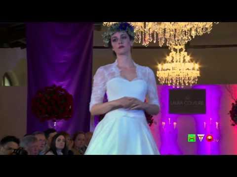 Preview Collezione 2017 di Abiti da Sposa di Laura Couture - Antico Borgo di Sutri - www.HTO.tv
