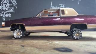 RC lowrider Cadillac Fleetwood Brougham by Jevries