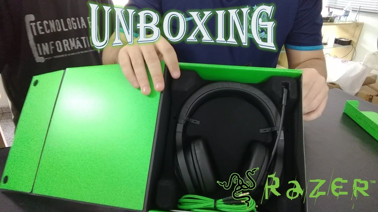 Headseat Razer Kraken Essential| VALE A PENA?